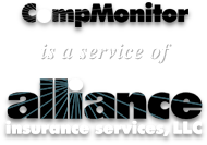 CompMonitor is a service of Alliance Insurance Services, LLC
